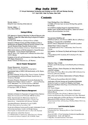 Map India 2000 PDF