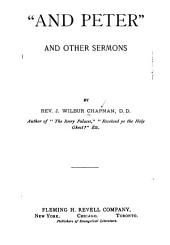 """And Peter"": And Other Sermons"