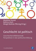 Geschlecht ist politisch PDF