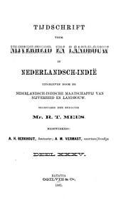 Tijdschrift voor nijverheid en landbouw in Nederlandsch-Indië: Volume 35
