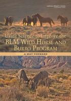 Using Science to Improve the BLM Wild Horse and Burro Program PDF