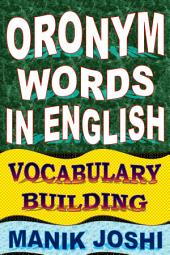 Oronym Words in English: Vocabulary Building