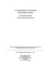 Estimating Areas Contributing Recharge to Wells: Lessons from Previous Studies