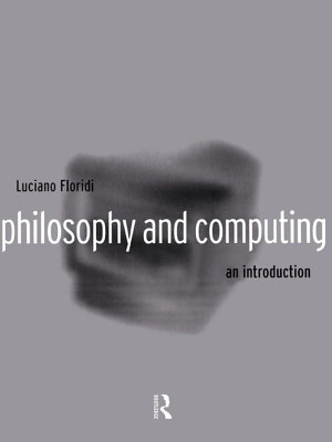 Philosophy and Computing