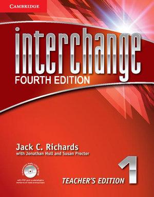 Interchange Level 1 Teacher s Edition with Assessment Audio CD CD ROM PDF