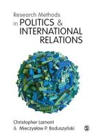 Research Methods in Politics and International Relations PDF