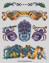 Occult Coloring Book for Grown-Ups 2