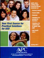 Your First Source for Practical Solutions for ASD PDF