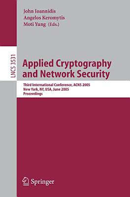 Applied Cryptography and Network Security PDF