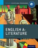 IB English A Literature Course Book PDF