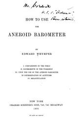 How to Use the Aneroid Barometer