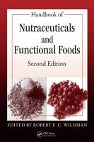 Handbook of Nutraceuticals and Functional Foods  Second Edition PDF