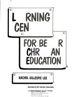 Learning Centers for Better Christian Education PDF