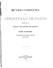 Oeuvres completes: Volume 8