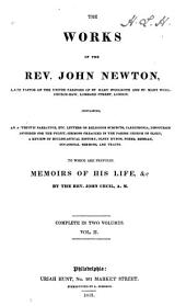 The Works of the Rev. John Newton ... to which are Prefixed Memoirs of His Life, &c: Volume 2