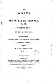 The Works of Sir William Temple, 1: Complete, Volume 2