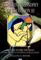 Essays in Philosophy of Education Iii PDF