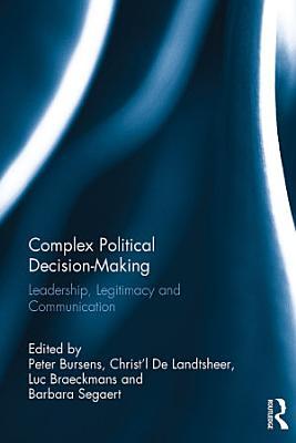 Complex Political Decision Making PDF