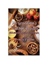 My Grandma   s Vintage Recipes PDF