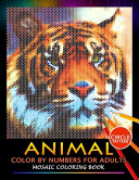 Animal Color by Numbers for Adults