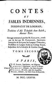 Contes et fables indiennes: Volume2