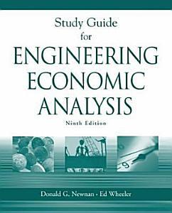 Engineering Economic Analysis Book