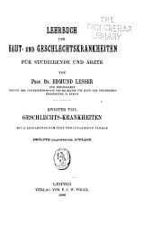 Lehrbuch der Haut- und Geschlechtskrankheiten für Studierende und Ärzte: Band 2