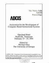 The Thirty fifth ADCIS Proceedings PDF