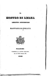 Il Mostro di Lerma: leckitos Agúgento