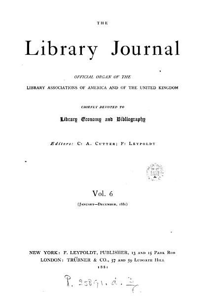 Download the  library journal Book