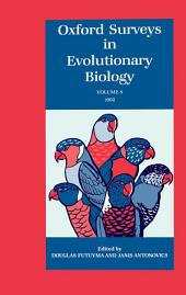 Oxford Surveys in Evolutionary Biology