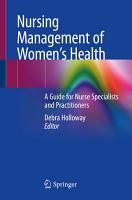 Nursing Management of Women   s Health PDF