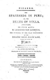 Pizarro. The Spaniards in Peru ... Translated ... by Anne Plumptre ... Fifth edition, revised