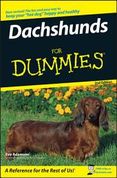 Dachshunds For Dummies: Edition 2