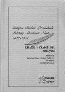 Instytut Bada   Literackich Polskiej Akademii Nauk  1948 2001 PDF