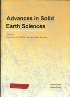 Advances in Solid Earth Sciences PDF