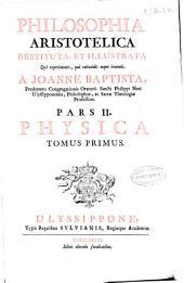 Philosophia Aristotelica