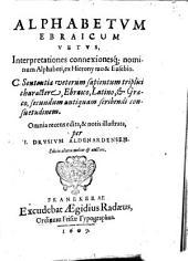 Alphabetum ebraïcum vetus