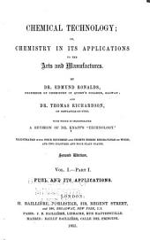 Chemical Technology: Volume 1, Part 1