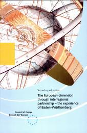 The European Dimension Through Interregional Partnership: The Experience of Baden-Württemberg