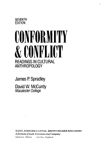 Conformity   Conflict