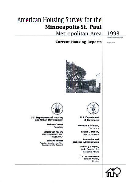 Salt Lake City Metropolitan Area, 1998