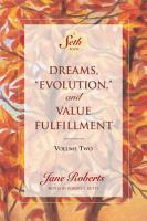 Dreams     Evolution     and Value Fulfillment  Volume Two PDF