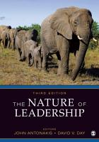 The Nature of Leadership PDF