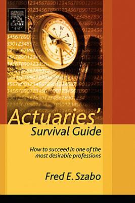 Actuaries  Survival Guide PDF