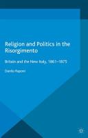 Religion and Politics in the Risorgimento PDF