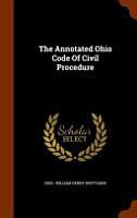 The Annotated Ohio Code of Civil Procedure PDF