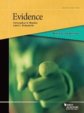 Black Letter Outline on Evidence, 4th: Edition 4