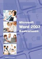 Microsoft Word 2007   Basiswissen PDF