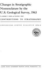 Changes in Stratigraphic Nomenclature by the U S  Geological Survey  1963 PDF